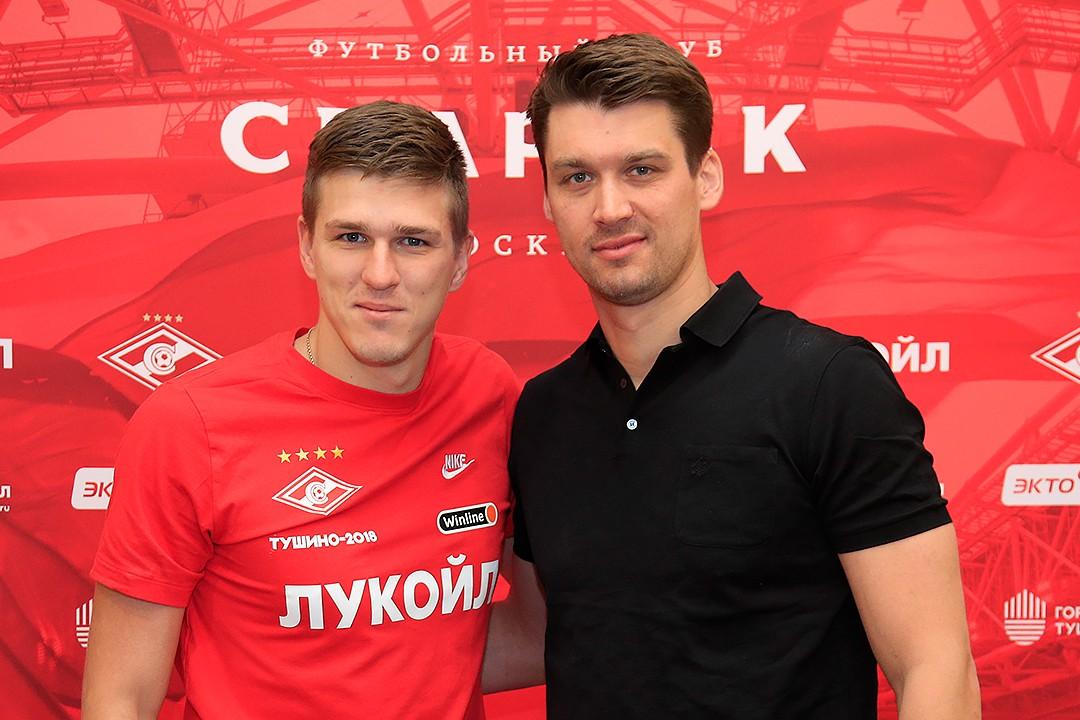Александр Соболев и Томас Цорн