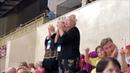 Овации для Олимпийской Чемпионки Test Skates FS FanCam Standing ovations for Alina Zagitova