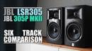 JBL 305P MKII vs JBL LSR305 6 Track Comparison