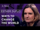 Nobel prize-winning economist Esther Duflo: 'You have no reason to fear low-skilled migration'