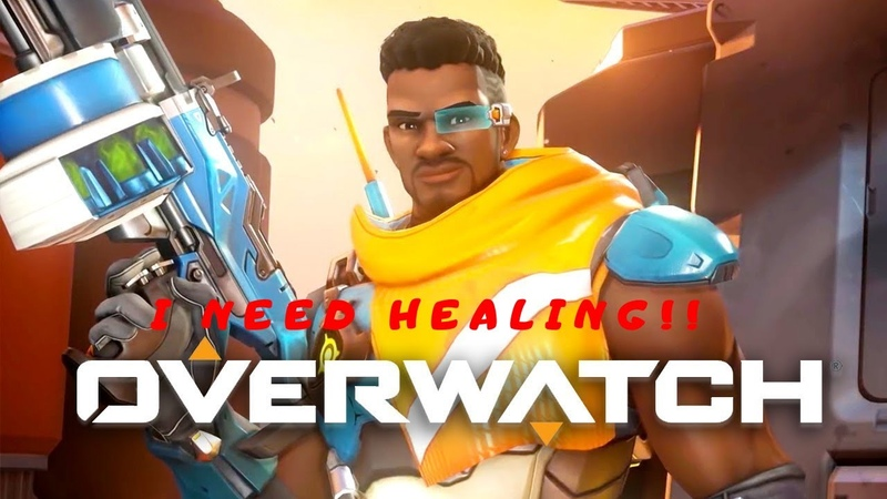 Friday With Boys Overwatch Highlights Healers can carry too