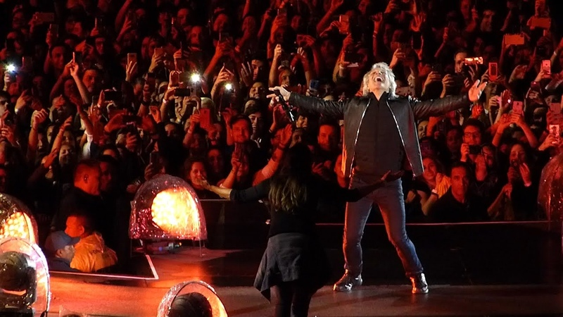 Bon Jovi Bed of Roses 09 25 2019 Live in Sao Paulo Brazil