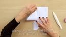 Vídeo manualidades bolsillos de papel paso a paso Anita y su mundo scrapbook