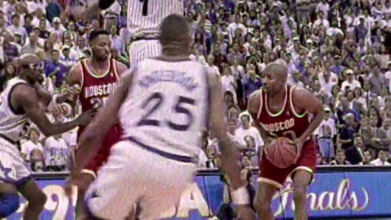 Kenny Smith Hits Seven 3 Pointers To Down Orlando In NBA Finals NBANews NBA NBAPlayoffs