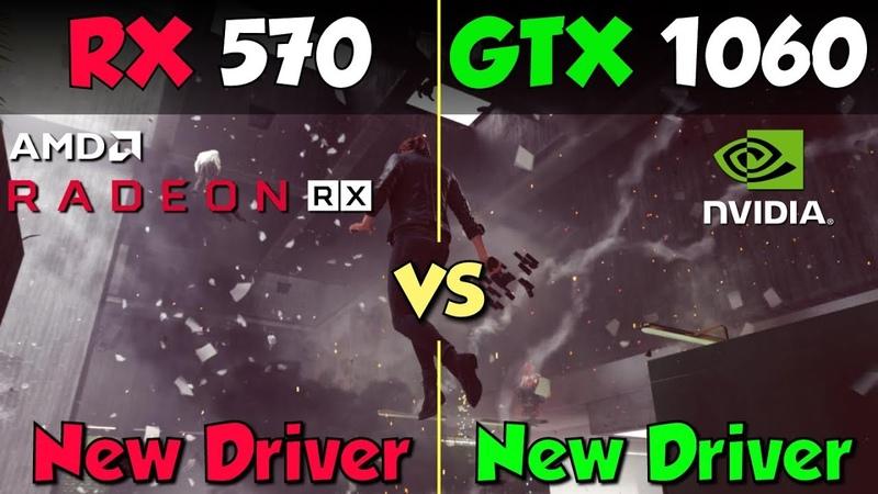 GTX 1060 vs. RX 570 (New Drivers)
