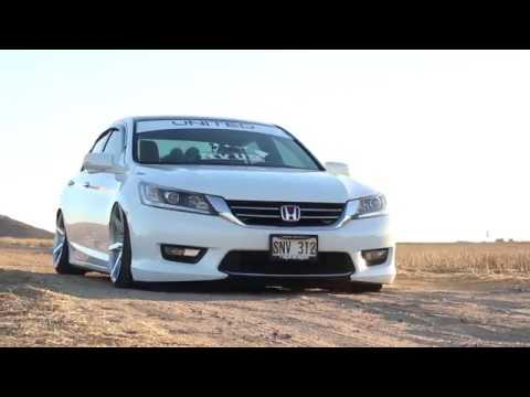 McDaniel-Son Bagged Accord on Rohana Wheels