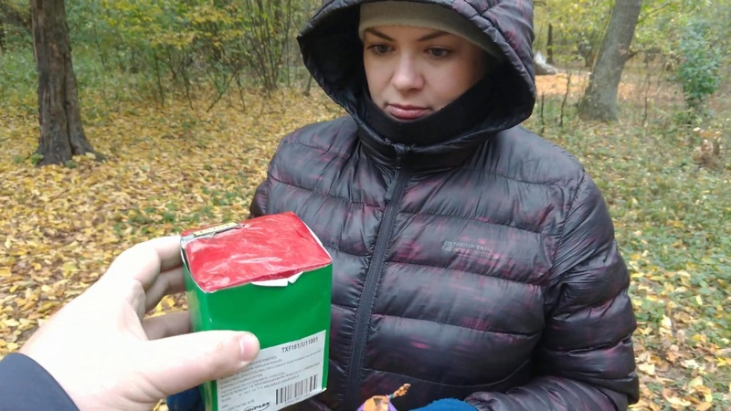 Мощная зелёная дымовуха Триплекс Зелёный цветной дым