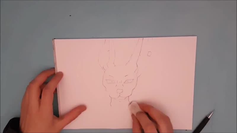 ✍ How To Draw 6 🌟 Beerus   Easy 💫 Dragon Ball Super