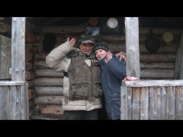 Пеший поход в таёжную избушку на две ночки Судоверфь TV Коми край Ukhta