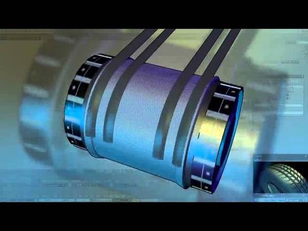 Процесс производства легковых шин Michelin (Мишлен)