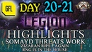 Path of Exile 3 7 LEGION DAY 20 21 Highlights SOMAYD'S THREATS WORKS ZIZARAN RIPS AGAIN