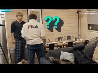 Namjoon broke his slippers,,,