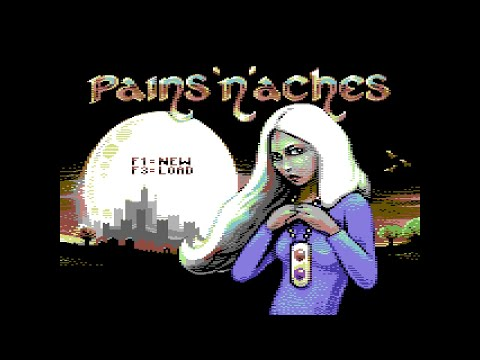 Pains n Aches C64 2018 . Стрим 3