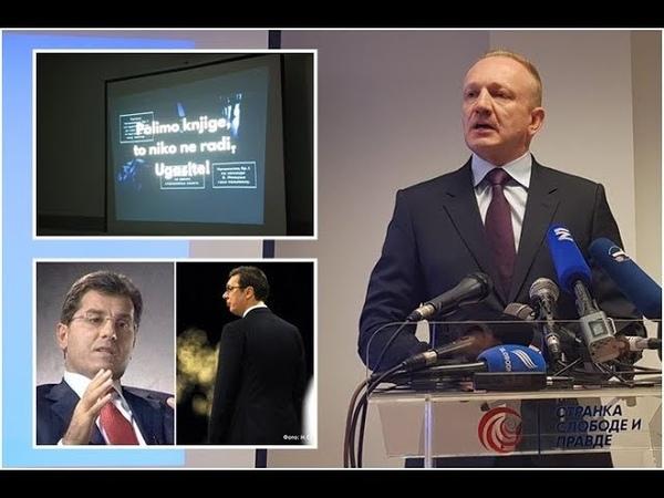 Nastavak drame Đilas - Film o paljenju knjiga naručio Vučić, montirao Beba Popović