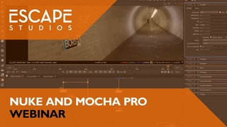 Rotoscoping and Clean-up with Nuke and Mocha Pro