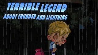 Masha's Spooky Stories 👻 - Terrible Legend About Thunder And Lightning ⚡ Tales for children