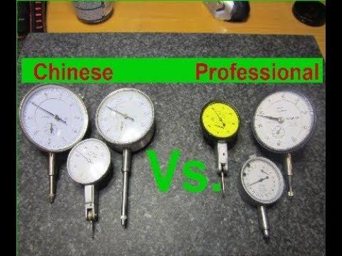 Chinese Vs professional dial indicators Comparison no name Vs Mitutoyo Vs TESA challenge