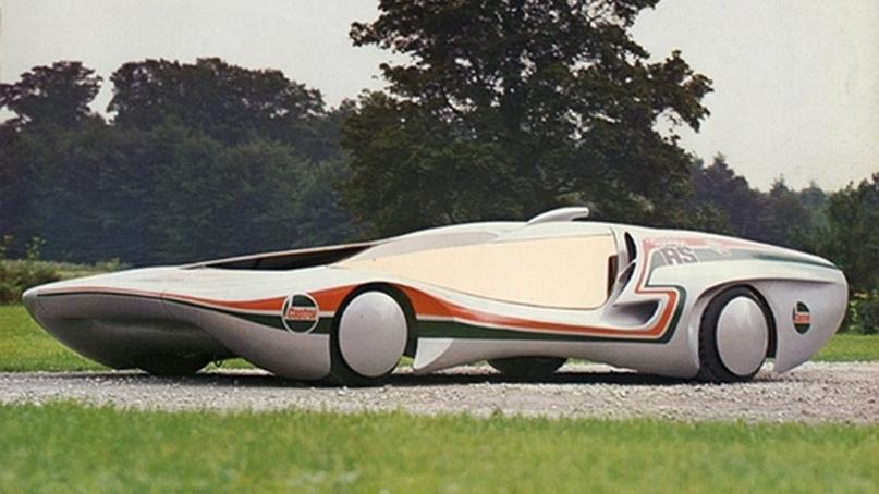Пластиковый спорткар Colani New RS, 1978.
