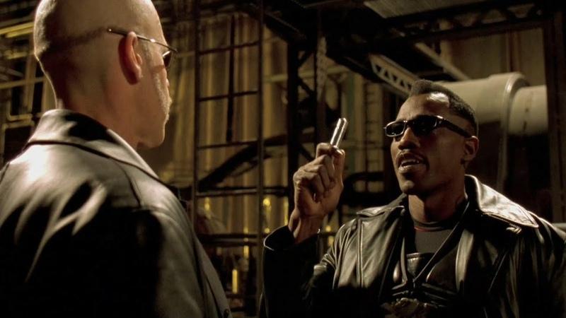 Блэйд показал кто здесь папочка Блэйд 2 отрывок из фильма