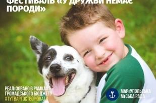 В Мариуполе состоится фестиваль беспородных собак