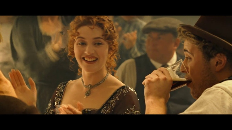 Titanic 038 Jack invites Rose to the party of third class 1080p 60fps