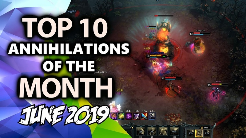 HoN OMG | Top 10 Annihilations of The Month | June 2019