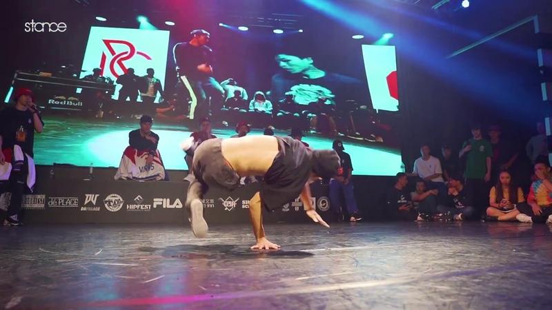 Dosu v Hayato 1 Solo QF stance Respect Culture Taiwan 2019