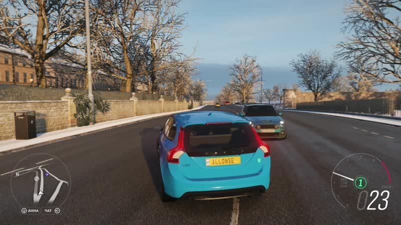 Forza Horizon 4 Volvo V60 Cross Country 2016 2 0 150HP Ultra Settings Open World 1080p60