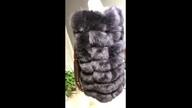MF1415260_SizeS-7XL_3Colors_Real Fox_Fur_Vest_medium_lenght_70cm_biggest bust size 130cm_Natural_Fox_Fur_Gilet