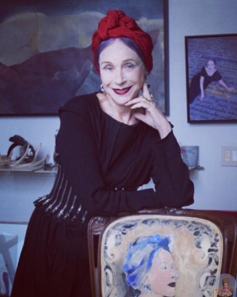 Модель Беатрис Ост 77 лет, наполненных красотой и элегантностью