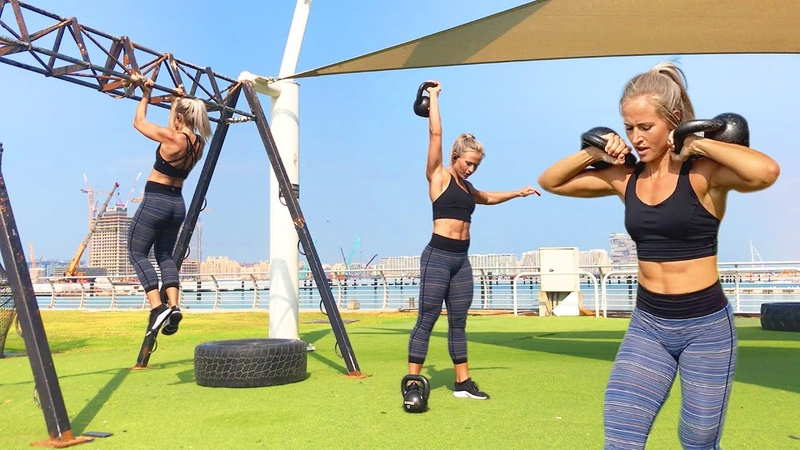 4 Minute Tabata Workout with Inger Houghton