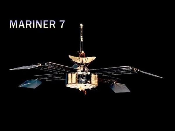 Mariner 7 (Mariner Mars 69B) mission to Mars in 1969