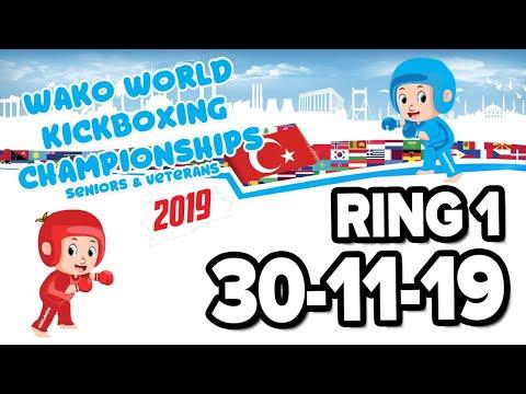 WAKO World Championships 2019 Ring 1 30 11 19 Finals