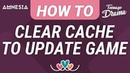 Love Story Games FAQ HOW TO CLEAR CACHE MEMORY TO DOWNLOAD UPDATE