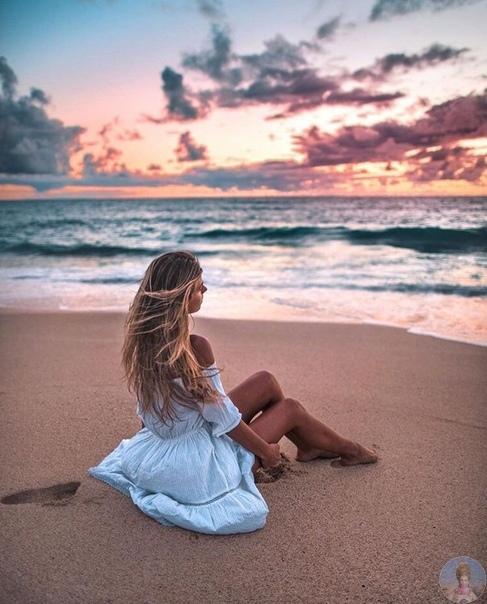 Мечтаю провести закат у моря