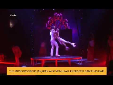 Semen Krachinov at The Moscow Circus janjikan aksi memukau, energetik dan puas hati