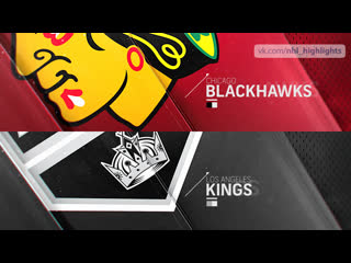 Chicago blackhawks vs los angeles kings mar 30, 2019 highlights hd