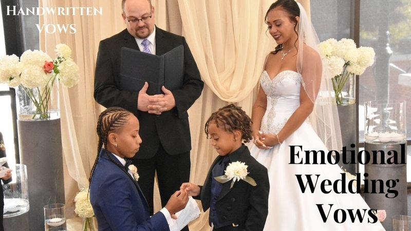 Lesbian Wedding | Our Emotional Vows will make you CRY! | Most Touching Handwritten Vows.
