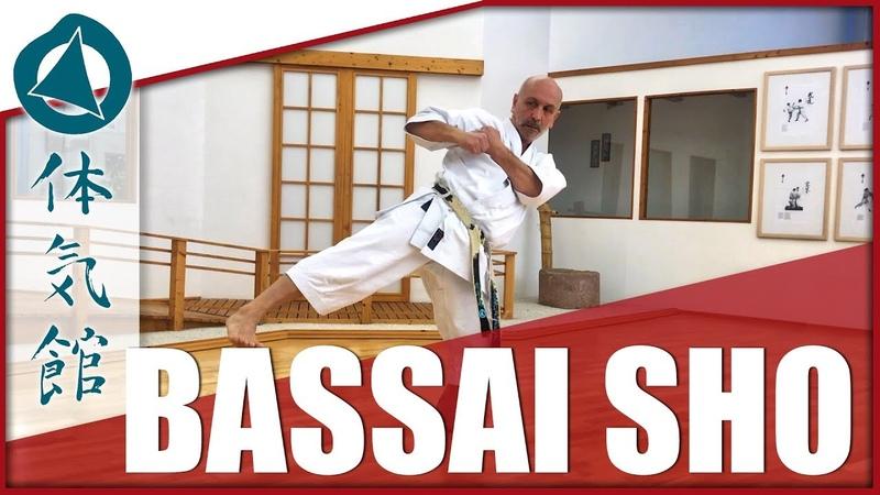 Bassai sho Fast Slow Shotokan Karate Kata