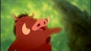 The lion king Pumba's emotional story