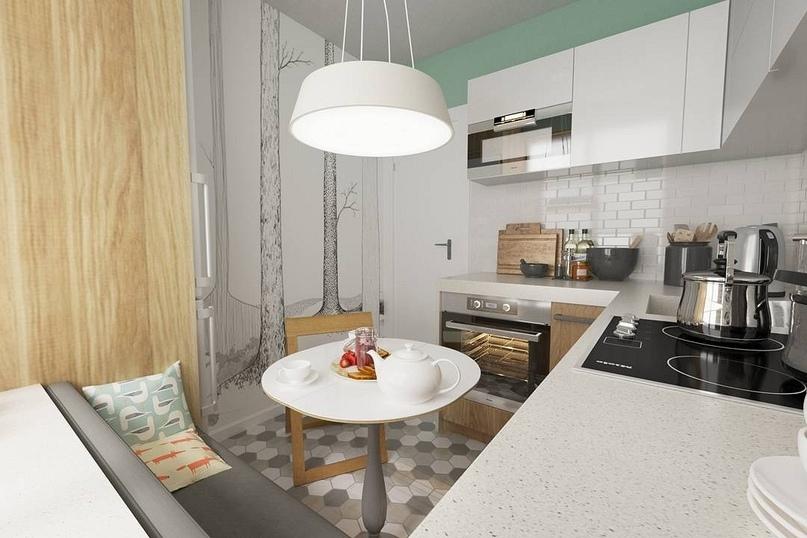 5 маленьких кухонь, в которых задействовано все полезное пространство, изображение №3