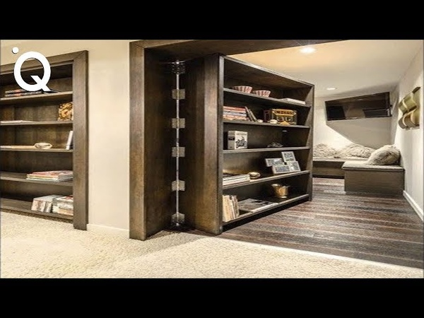 Awesome Secret Doors And Hidden Rooms Ingenious Furniture ▶2