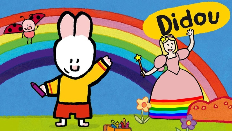 La Fée arc-en-ciel - Didou, dessine-moi La Fée arc-en-ciel   Dessins animés pour les enfants