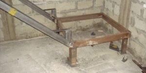 Лестница из профильной трубы своими руками: чертежи и пошаговый монтаж, изображение №42