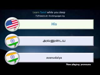 Learn Tamil while you sleep. 6 hours. 1000 Basic Words and Phrases