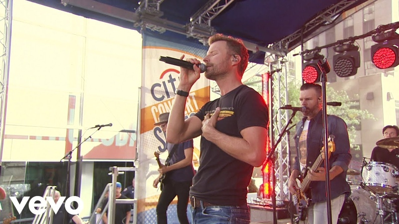 Dierks Bentley Burning Man Live From The Today Show