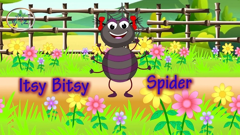 Itsy Bitsy Spider Video for Kids