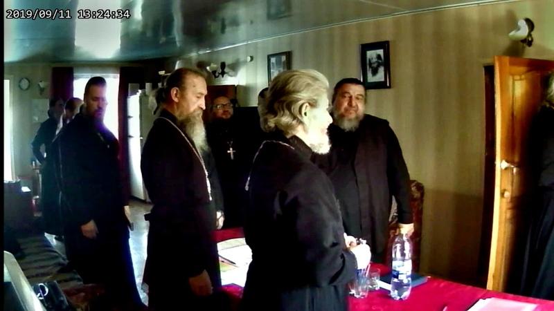 Первоиерарх Митрополит Филарет Семовских завершает Архиерейский Собор ПРЦ РПЦЗ 2019