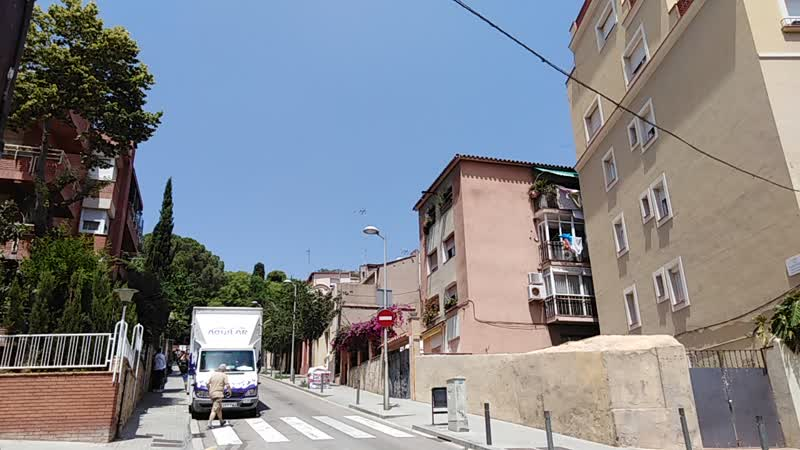Барселона. По дороге в парк Гуэль