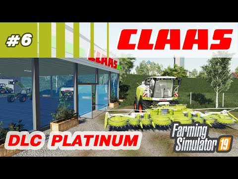 Farming Simulator 19 ⁂ Техника CLAAS, DLC Platinum, стрим6